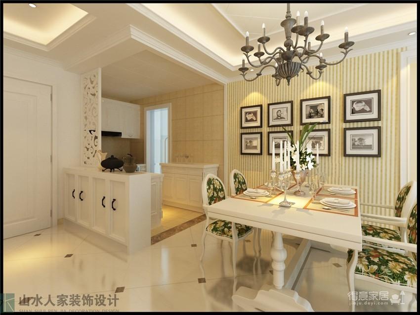 泰然南湖玫瑰湾-100平-乡村美式风格图_3