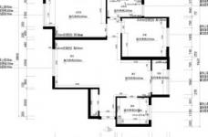 90平米地中海风格两居室/时尚舒适的简约蓝色图_5