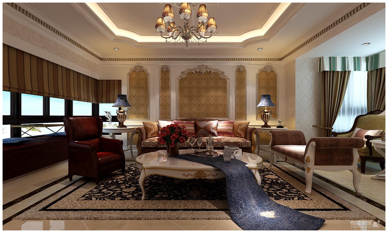 160平米法式风格四居室/属于两个人的罗曼蒂克图_3