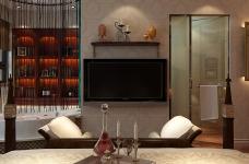 160平米法式风格四居室/属于两个人的罗曼蒂克图_6