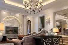 300平米独栋别墅豪华欧式装修专享高品质生活图_5