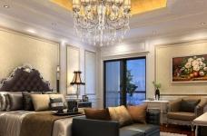 300平米独栋别墅豪华欧式装修专享高品质生活图_1