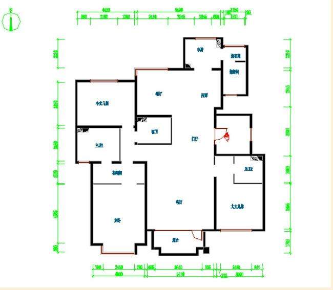 172平简约欧式风格装修 环保的清新家居图_6