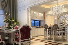 300平米独栋别墅豪华欧式装修专享高品质生活图_3