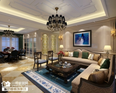 华润·悦府-220平-现代欧式-五室三厅