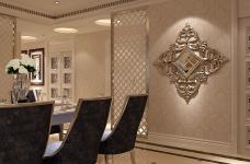 160平米法式风格四居室/属于两个人的罗曼蒂克图_4