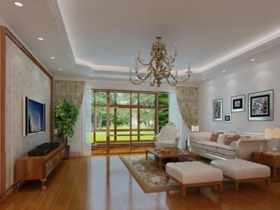 172平简约欧式风格装修 环保的清新家居