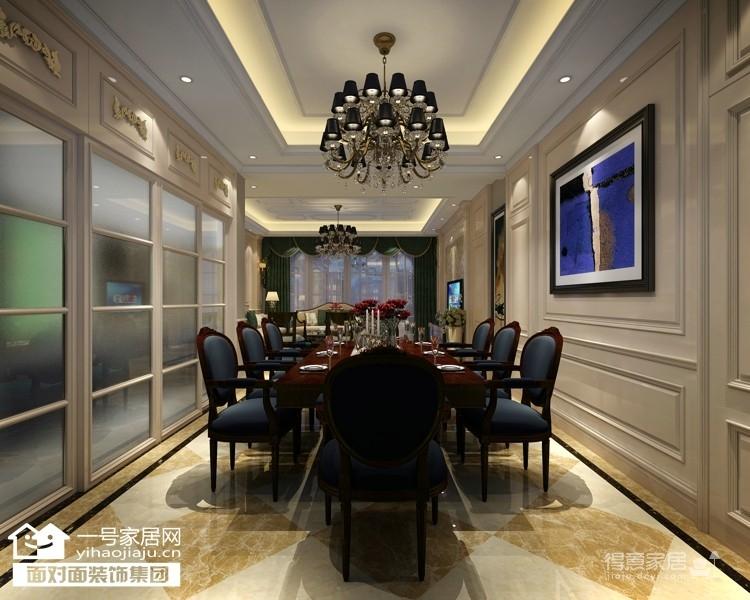 华润·悦府-220平-现代欧式-五室三厅图_3
