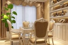 葛洲坝世纪花园一期-四室两厅-装修效果图图_2