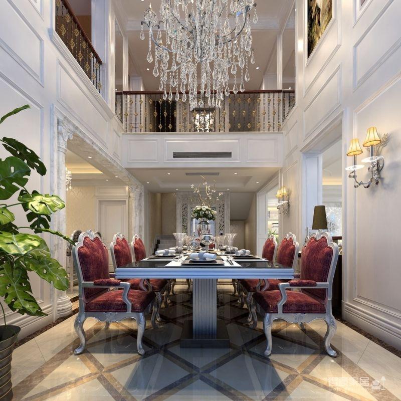 300平米独栋别墅豪华欧式装修专享高品质生活图_4