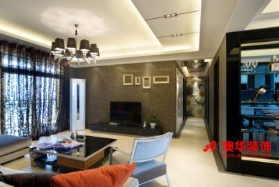 10万打造香榭琴台149平米精致小资之家