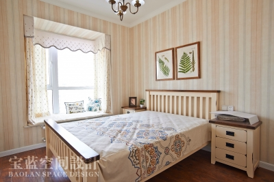 119平美式混搭三居室