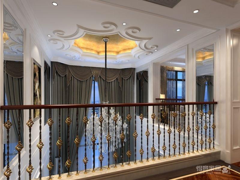 300平米独栋别墅豪华欧式装修专享高品质生活图_7
