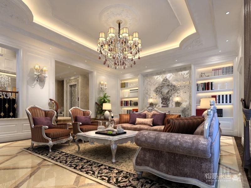 300平米独栋别墅豪华欧式装修专享高品质生活图_6