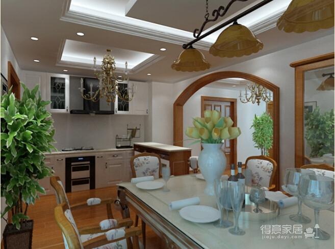 172平简约欧式风格装修 环保的清新家居图_5