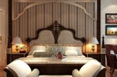 160平米法式风格四居室/属于两个人的罗曼蒂克图_5