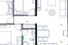 200平米联排别墅/现代欧式风格装修图_8