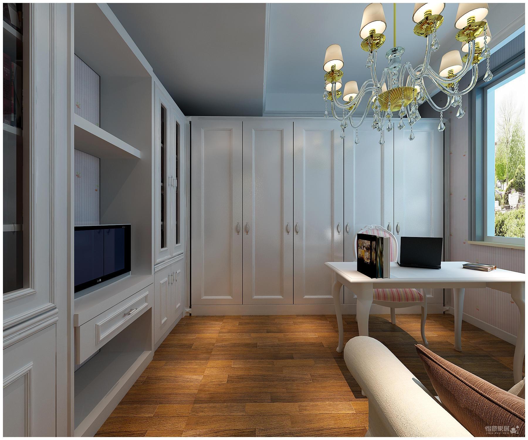 320平米别墅装修/新中式风格的独特演绎图_7