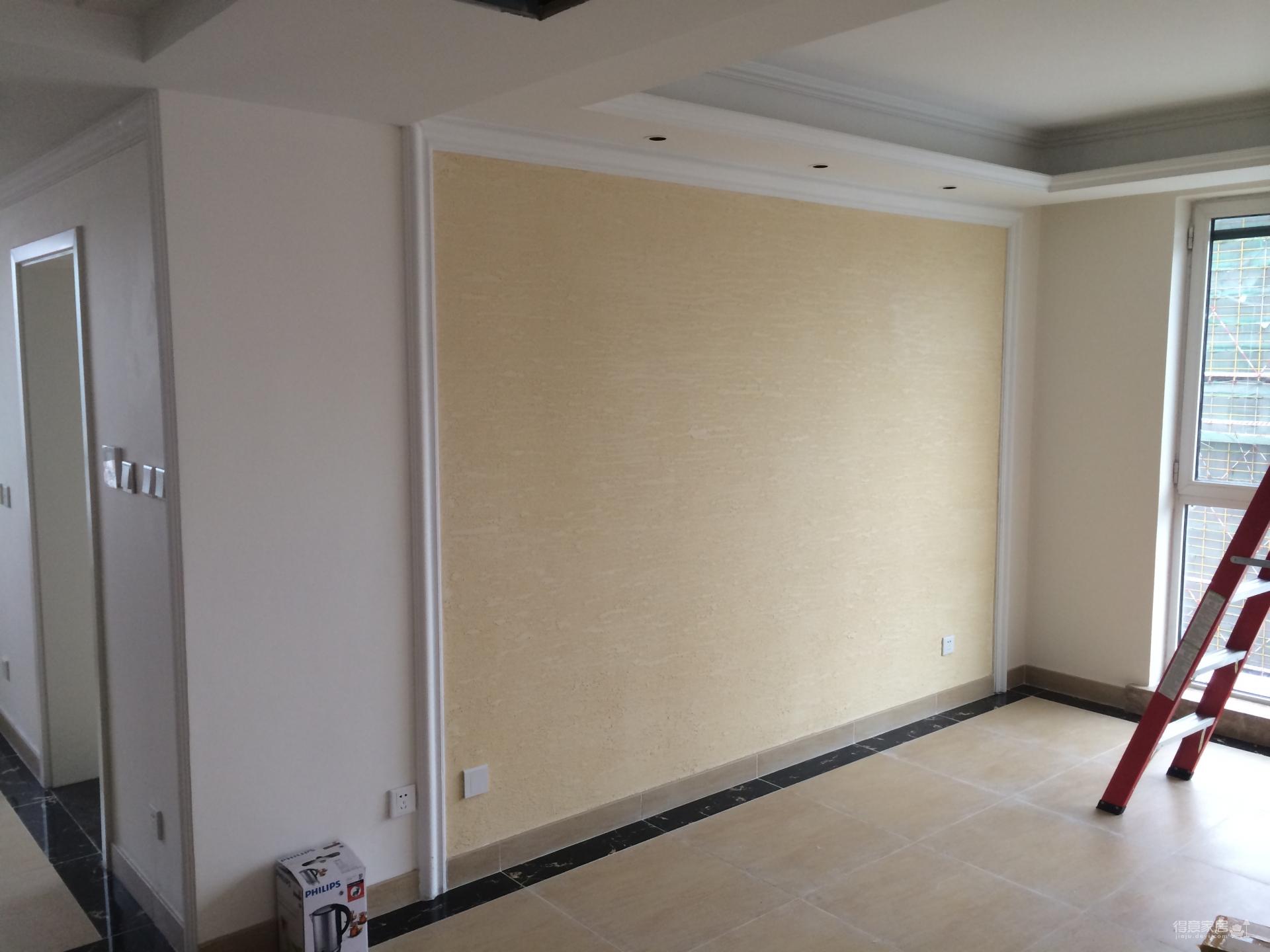 130平米混搭风格三居室/实景完工工地展示图_8