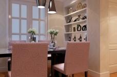 金桥普林斯顿-91平-现代简约-三室两厅图_4