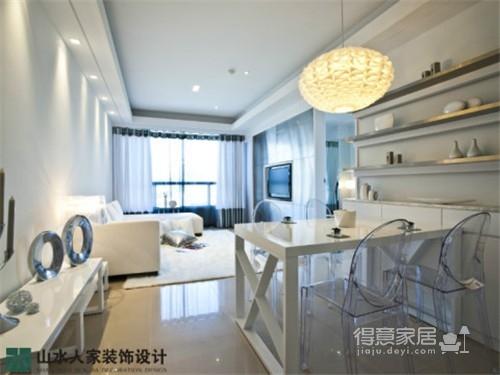水晶郦都-60平-两室两厅-现代简约风格图_1