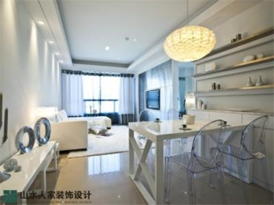 水晶郦都-60平-两室两厅-现代简约风格