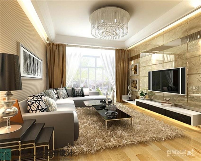 珞珈雅苑-83平-两室两厅-现代简约图_1