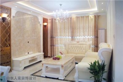 新世界恒大华府-110平-三室两厅-简欧风格