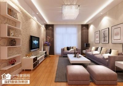 金桥普林斯顿-91平-现代简约-三室两厅