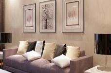 金桥普林斯顿-91平-现代简约-三室两厅图_2