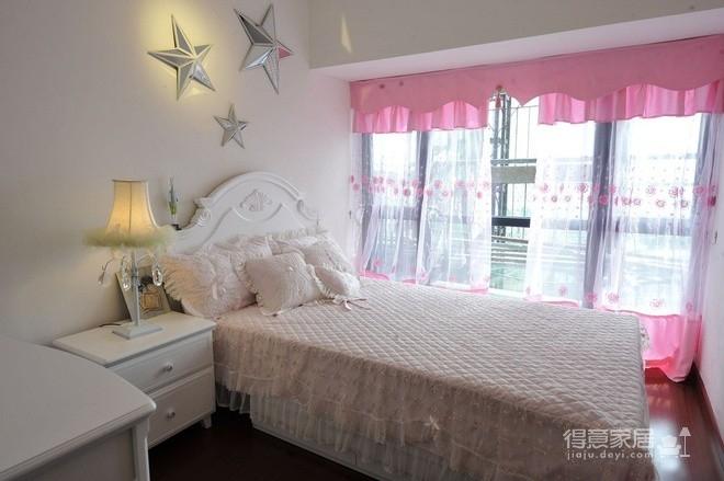 组-粉色公主田园卧室图_3