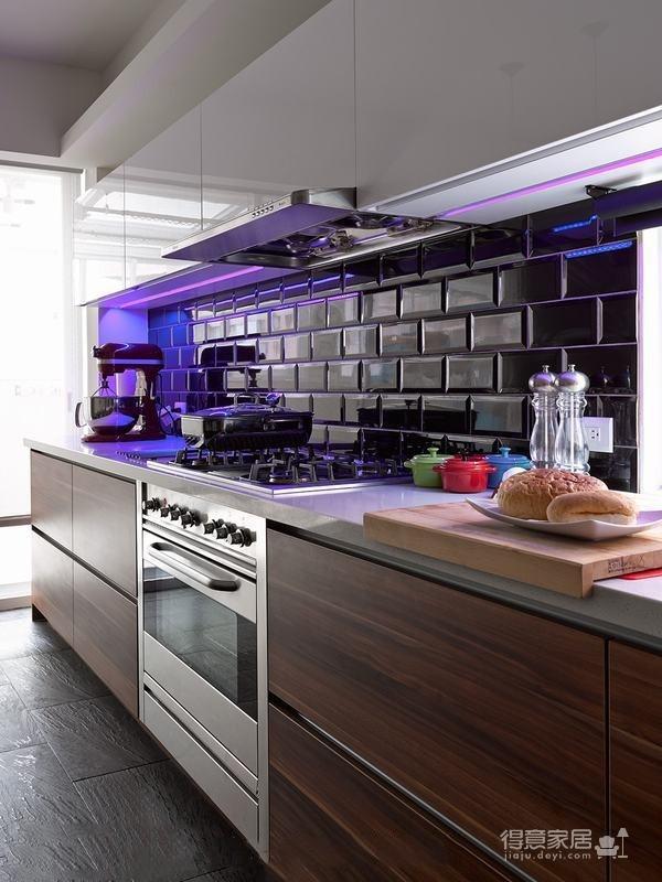 组- 现代感十足的厨房图_1