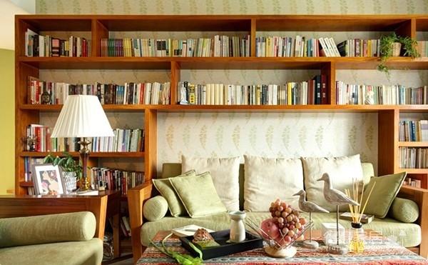 组-东南亚风格客厅 129平米图_9