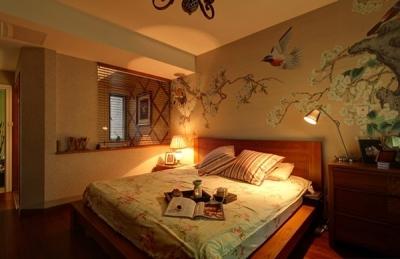 组-东南亚风格卧室 129平米