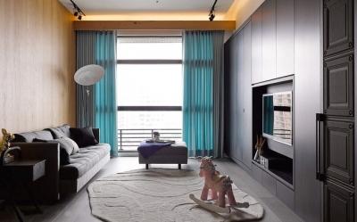 组-92平后现代客厅