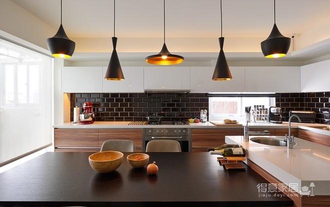 组- 现代感十足的厨房图_2