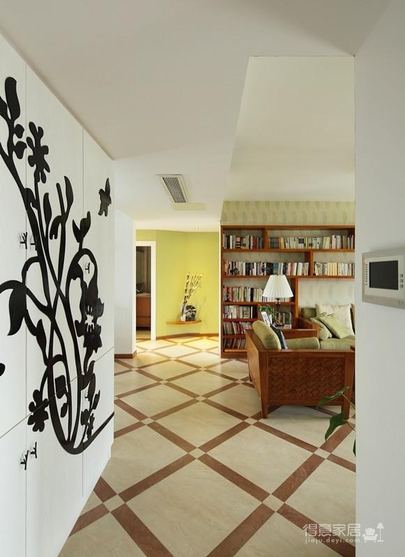 组-东南亚风格客厅 129平米图_12