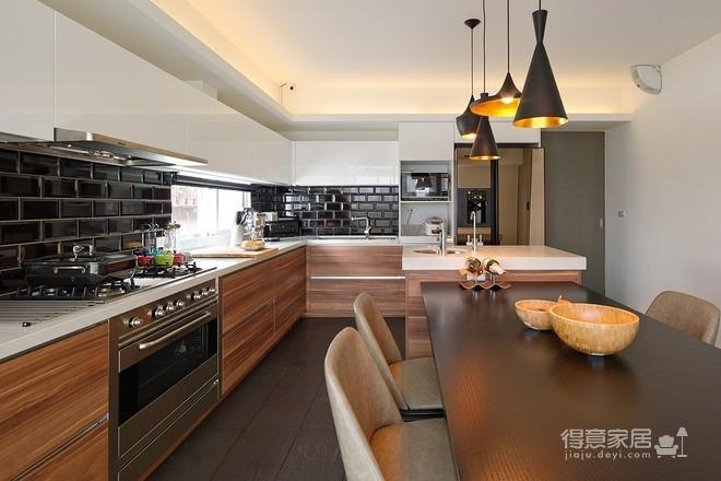 组- 现代感十足的厨房图_3