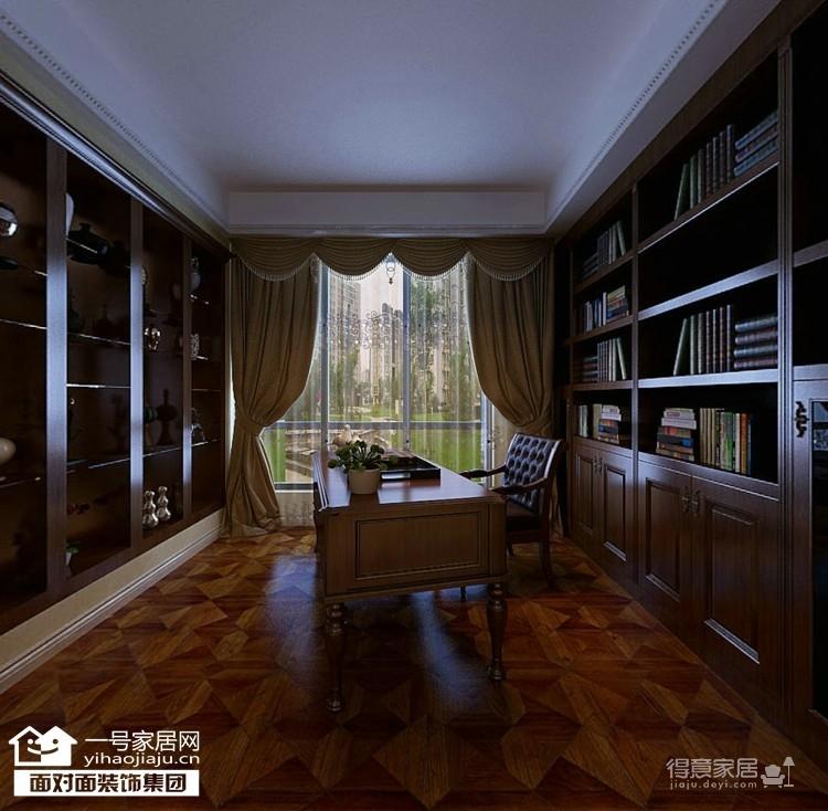 170平美式四室两厅装修设计图图_5