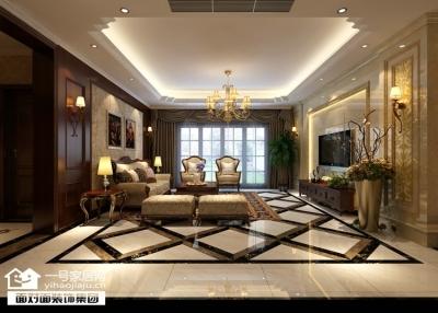 170平古典欧式四室两厅装修设计图
