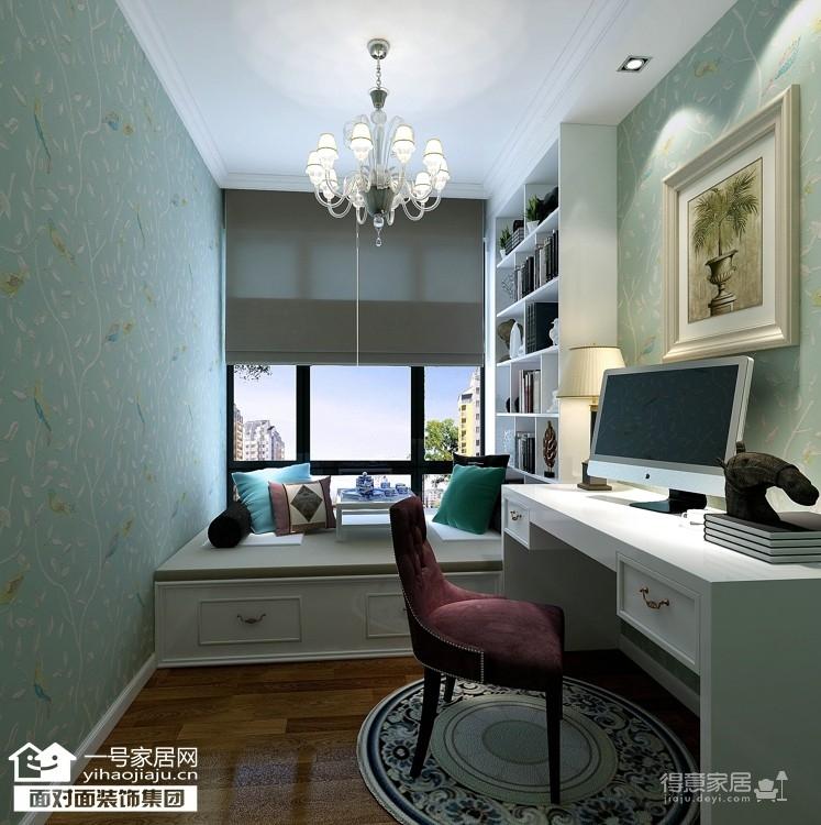 鸿发世纪城-133平-现代简约-三室两厅图_3
