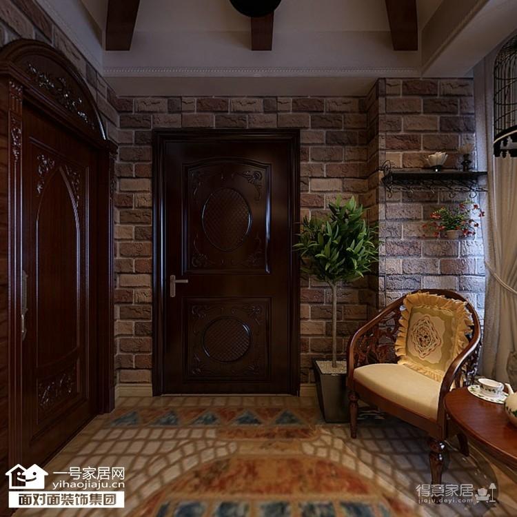 170平美式四室两厅装修设计图图_4