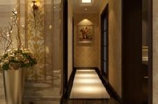 170平古典欧式四室两厅装修设计图图_4