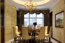 170平古典欧式四室两厅装修设计图图_3