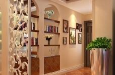 118平米两居室装修 体验美式自在与情调图_4