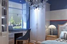 118平米两居室装修 体验美式自在与情调图_5