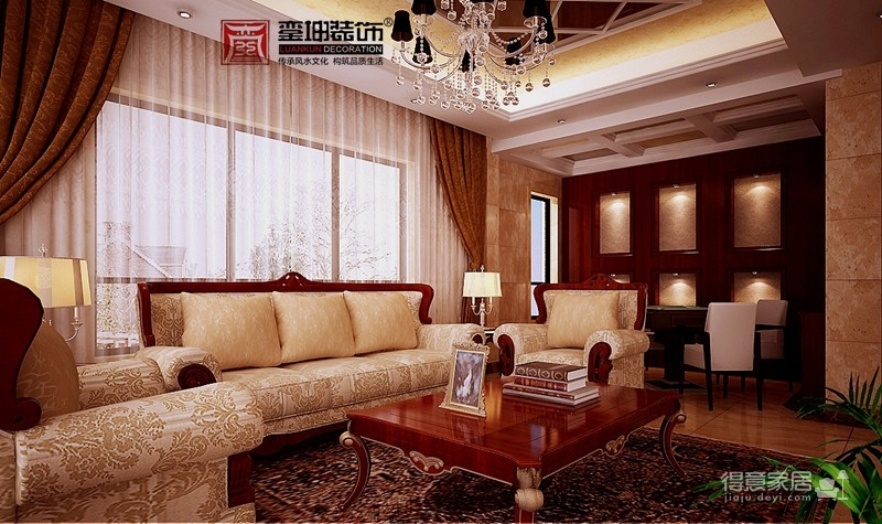 汉南碧桂园--新古典主义图_8