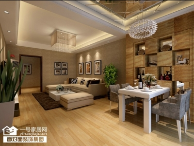 珞珈雅苑-136平-现代简约-四室两厅