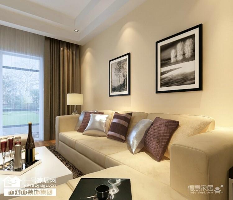 福晟滨江国际-88平-现代简约-两室两厅图_2