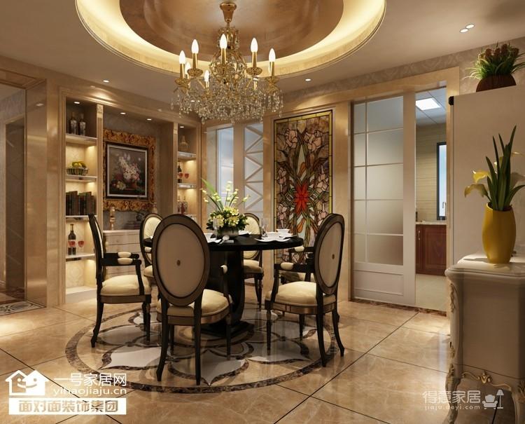 盛世滨江-132平-现代欧式-三室两厅图_1
